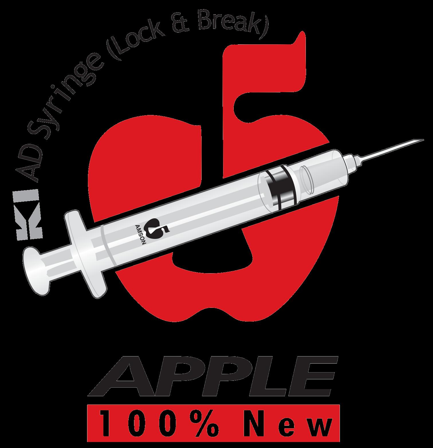 Apple Syringe